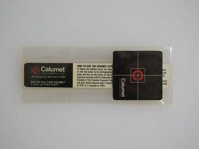 Calumet Exposure Calculator for large format macro and close up 4x5 8x10