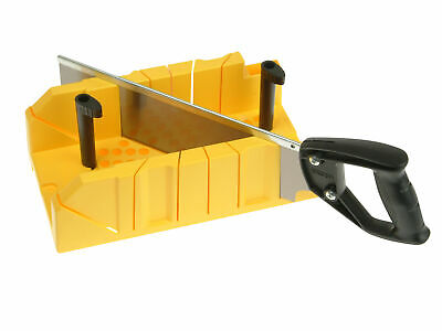 Stanley Tools Clamping Mitre Box & Saw STA120600