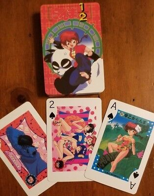 Ranma 1/2 Playing Cards Brand New, Unused