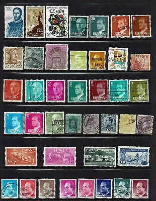 Spain...collection...page Lot