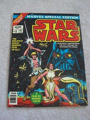 Star Wars Marvel Special Edition Comic Book #1 1977