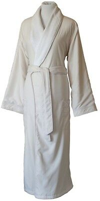 Jennifer Adams Home Essentials Luxury Robe (Small, Ivory)