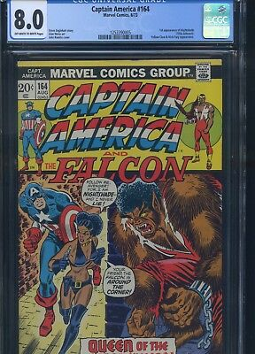 Captain America #164 CGC 8.0 1st Appearance of Nightshade