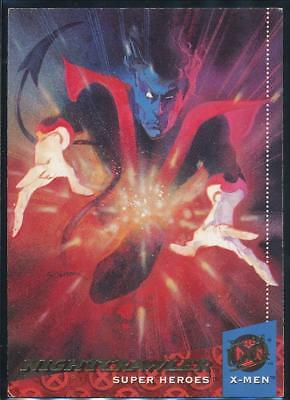 1994 X-Men Ultra Trading Card #17 Nightcrawler