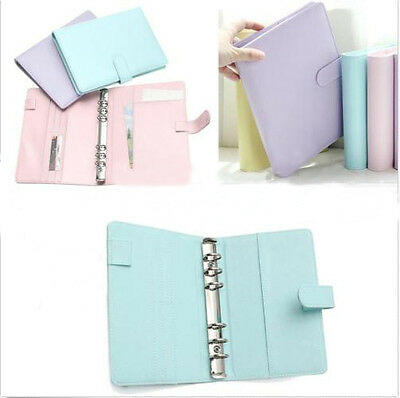 A5 Weekly Monthly Planner Diary Classic Loose Leaf Ring Binder Notebook Cover
