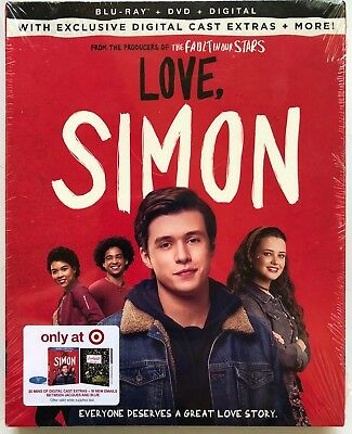 New Love Simon Blu Ray Dvd Digital Hd 2 Disc Target Exclusive Slipcover + More