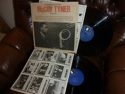 "McCoy Tyner, Cosmos, USA Blue Note  RE-ISSUE Series,  2 LP, 12"" 1976"