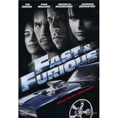 Fast And Furious - Solo Parti Originali  [Dvd Usato]