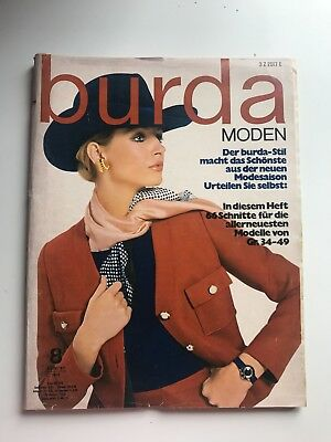 VINTAGE ORIGINAL BURDA Moden Zeitschrift - September 1977 ...