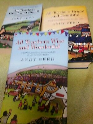 Andy Seed, 3 Books.
