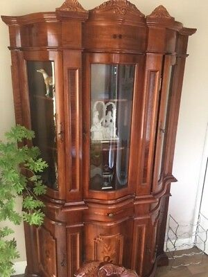 Reproduction Italian Style Wall Cabinet