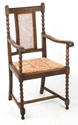 Antique Oak Carver Armchair - FREE Shipping [PL4513]