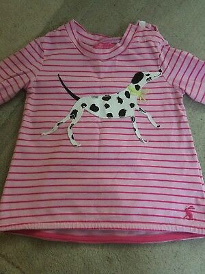 Baby Girls Joules Top 9-12 M