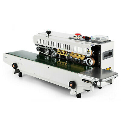 FR-770 Continuous Band Sealer Horizontal Bag Sealing Machine PRO DURABLE SERVICE