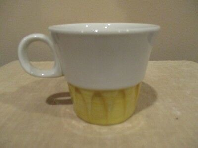 Vtg. Mayer China, Restaurant Ware, Sculptura Coffee Cup,  Beaver Falls, PA (1pc)
