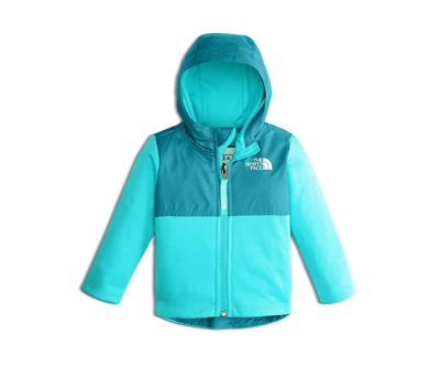 The North Face Infant Kickin It Hoodie Jacket Sz 3T Blue Curacao NEW NWT; $50