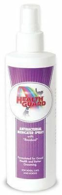 HealthGuard Antibacterial Medicated Spray Hot spots, Ringworm Mange residual 8oz