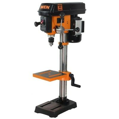 10 in. Variable Speed Drill Press Laser Woodworking Tools Bench Top Mount By WEN