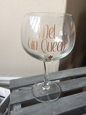 Personalised Gin Glass - Gin Gift