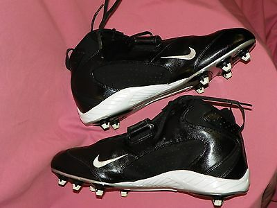 "Nike Men's Football Cleats ""open Field"" Size 15 Black #310945-011"