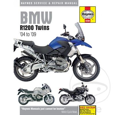 BMW R 1200 GS Adventure ABS 2009 Haynes Service Repair Manual 4598