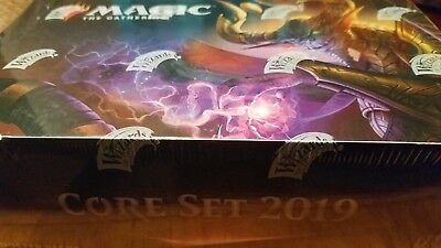 MAGIC THE GATHERING MTG Core Set 2019 M19 Booster Box Factory Sealed (ENGLISH)