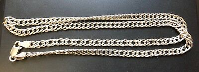 Good Quality Vintage Sterling Silver Chain-