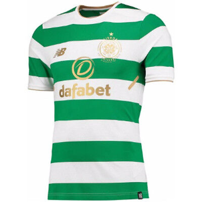 NB Glasgow Celtic Football Club ELITE  home shirt TIGHT FIT Player Issue RRP £90
