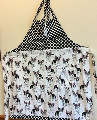 French Bulldog/Boston Terrier Apron And Kitchen Towel
