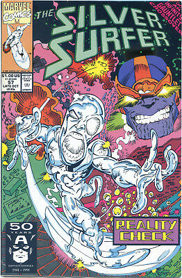 Silver Surfer 57 Thanos Infinity Gauntlet  Story