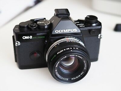 Olympus OM2 Spot/Program with 50mm f1.8 lens