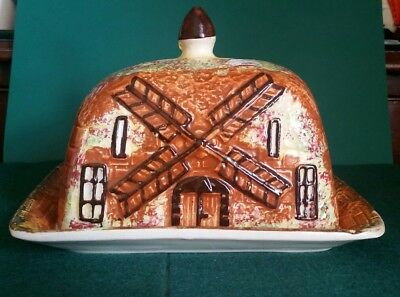 Prices Cottage Ware Windmill Pattern Butter Dish