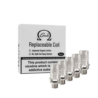INNOKIN ISUB COIL Genuine 0.5ohm Coils, Replacement Coil Heads (Pack of 5)