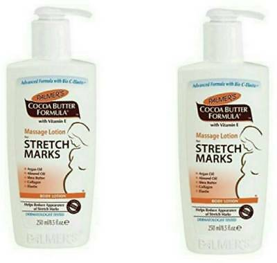 Palmer's Cocoa Butter Formula Massage Lotion Stretch Marks Pack of 2 (250ml) US