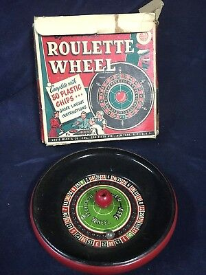 Spinning Toy Roulette Wheel Gambling Game