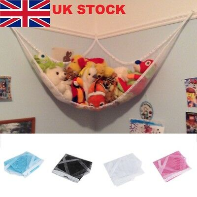 Toy Tidy Storage Net Small For Kids Bedroom Nursery Large Toy Soft Hammock Mesh