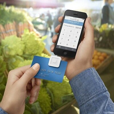 Credit Card Reader Smartphone Apple Android Mobile Swipe Payment Sale Equipment