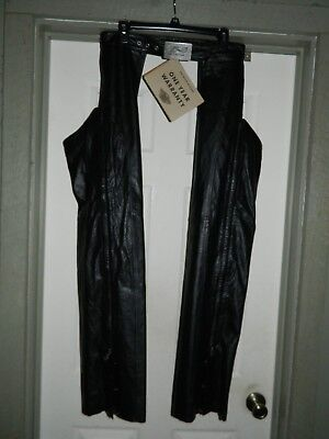 HARLEY DAVIDSON VENUS 103819 Leather Motorcycle Chaps- Women's MEDIUM, NWT!