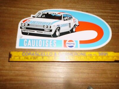Ford Capri 3.0 Willeme Team Pepsi Gauloises Adesivo Sticker Aufkleber