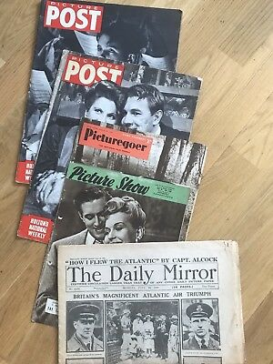 vintage magazines - Picture Post/Picture show/Daily Mirror  1919