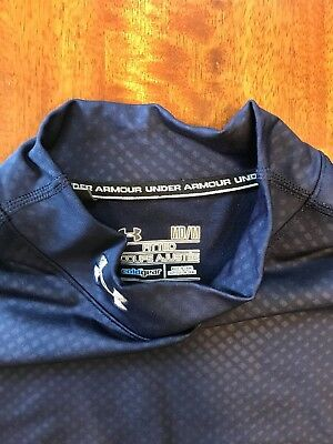 Under Armour Golf Cold Gear Fitted Long Sleeve Medium Mens
