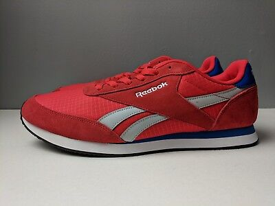 1246a13c6f3 Brand New Reebok Classic Retro Royal CL Jogger 2 Men s Shoes Red Blue Size  11.5