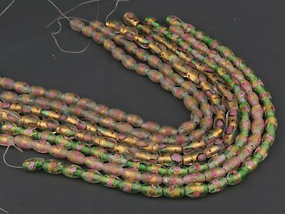 China Old Handmade Colored Coloured Glaze Beads DIY Necklaces Pendants