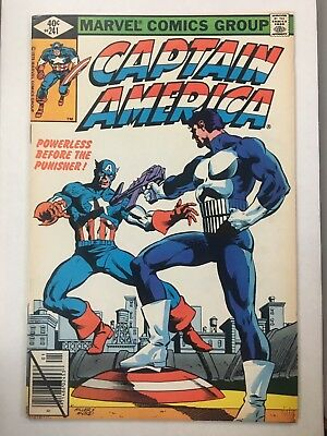 Captain America 241 early Punisher