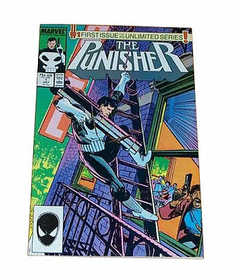 THE PUNISHER #1 Ongoing Series 1987 Marvel Comics NM 9.6-9.8 Cgc It
