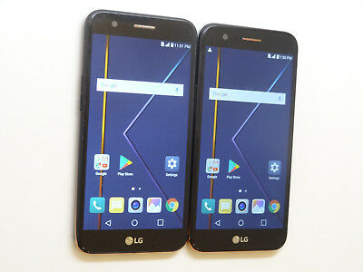 Lot of 2 LG K20+ TP260 T-Mobile & GSM Unlocked 32GB Smartphones AS-IS #