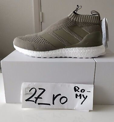 best service 379ab ad4be Adidas ACE 16+ PureControl Ultra Boost sz 10 Clay Seame Beige CG3655
