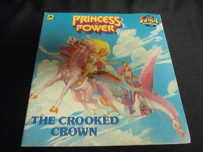 Vintage She-Ra Princess of Power 1986 Crooked Crown Book - Dwight John Zimmerman