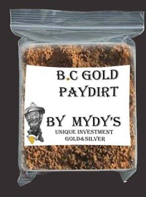 1.5 Lbs Gold Paydirt Unsearched and 100% Added GOLD! Panning Nuggets (#FL34)