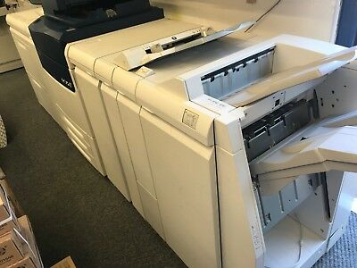 Xerox Versant 80 Press with EX80 Fiery, high capacity feeder and finisher